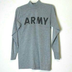 USGI Military US Army PT Uniform Long Sleeve Shirt